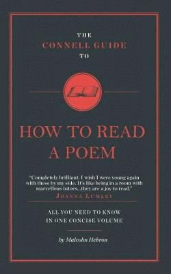 bokomslag Connell guide to how to read a poem