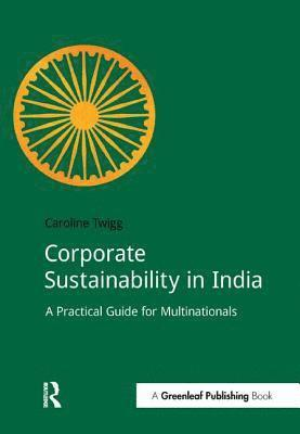 bokomslag Corporate sustainability in india - a practical guide for multinationals