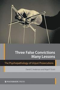 bokomslag Three False Convictions, Many Lessons