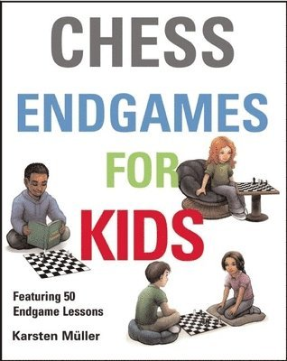 bokomslag Chess endgames for kids