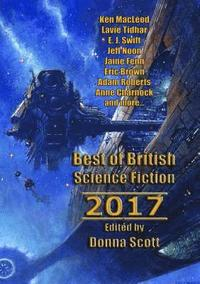 bokomslag Best of British Science Fiction 2017