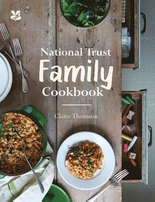 bokomslag National trust family cookbook
