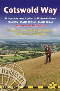 bokomslag Cotswold Way: Chipping Campden to Bath (Trailblazer British Walking Guide)