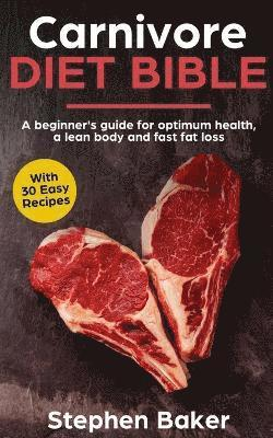 bokomslag Carnivore Diet Bible