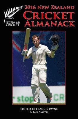 bokomslag 2016 cricket almanack
