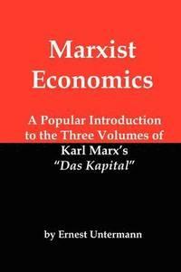 bokomslag Marxist Economics