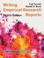 bokomslag Writing Empirical Research Reports: A Basic Guide for Students of the Social and Behavioral Sciences