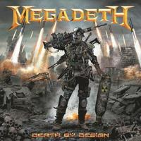 bokomslag Megadeth Death by Design Hardcover
