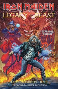 bokomslag Iron Maiden Legacy of the Beast Expanded Edition Volume 1