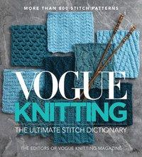 bokomslag Vogue  Knitting The Ultimate Stitch Dictionary