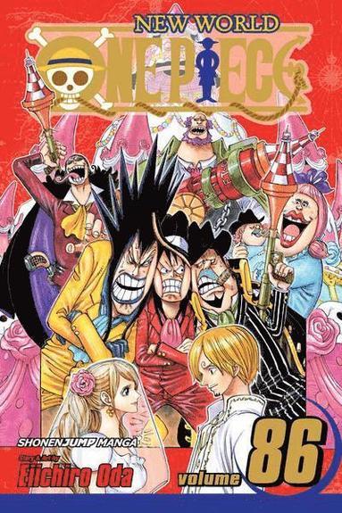 bokomslag One Piece 86