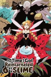 bokomslag That Time I Got Reincarnated as a Slime, Vol. 4 (light novel)