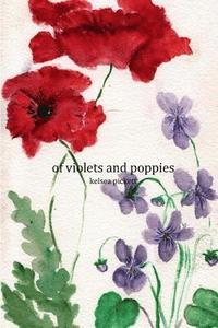 bokomslag of violets and poppies
