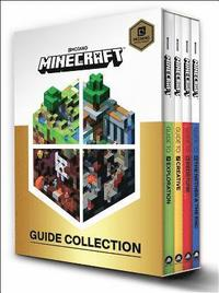 bokomslag Minecraft: Guide Collection 4-Book Boxed Set: Exploration; Creative; Redstone; The Nether & the End
