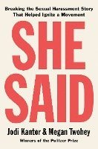 bokomslag She Said