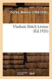 bokomslag Vladimir Iliitch Lenine