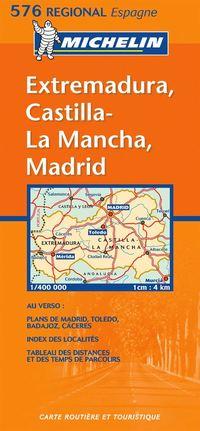 bokomslag Extremadura, Castilla-La Mancha, Madrid