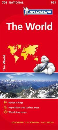 bokomslag Världen Michelin 701 karta : 1:28,5milj