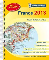 Frankrike 2013 Atlas Michelin A4 - 1:200000