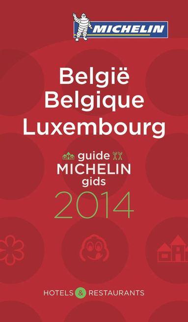 bokomslag Michelin Guide Belgique Luxembourg