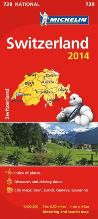 Switzerland 2014:1/400 000