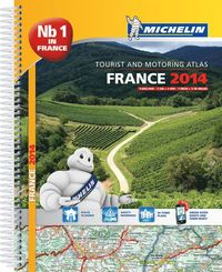 Frankrike 2014 Atlas Michelin A4