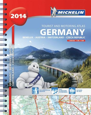bokomslag Tyskland Österrike Schweiz 2014