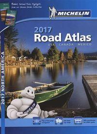 USA, Canada, Mexico 2017 Atlas Michelin