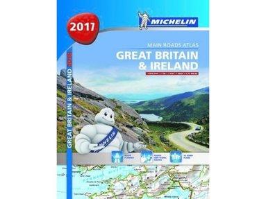 bokomslag Great Britain & Ireland Michlein Atlas 2017