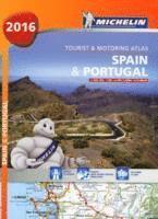 bokomslag Spanien Portugal 2016 Atlas Michelin A4 : 1:400000