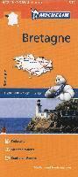 bokomslag Bretagne Michelin 512 delkarta Frankrike : 1:200000