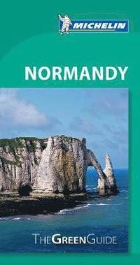bokomslag Normandy - Michelin Green Guide