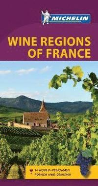 bokomslag Green guide wine regions of france