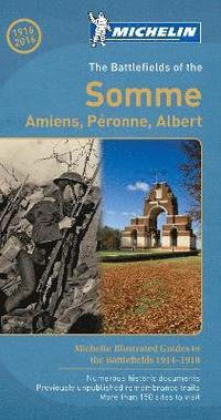 bokomslag The Battlefields of the Somme - Michelin Green Guide