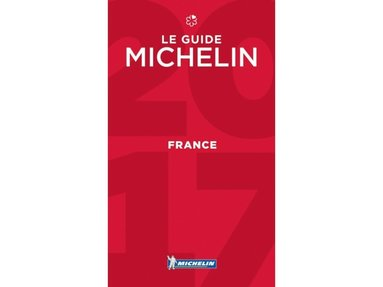 bokomslag France Michelin Guide 2017