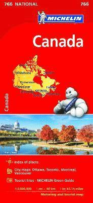 bokomslag Canada - Michelin National Map 766: Map