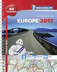 Europe 2017 Atlas Michelin