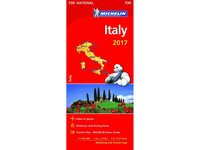 Italien 2017 Michelin 735 karta : 1:1milj