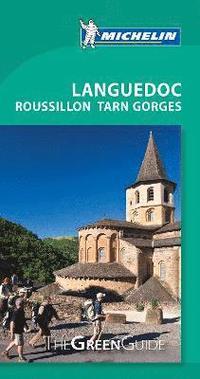 bokomslag Languedoc Rousillon Tarn Gorges - Michelin Green Guide