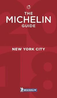 bokomslag New York City 2018 Michelin Red Guide