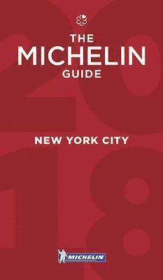 bokomslag New York City 2017 Michelin Red Guide