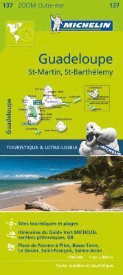 bokomslag Guadeloupe - Zoom Map 137