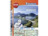 bokomslag Tyskland 2018 Atlas Michelin A4 1:300 000