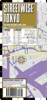bokomslag Streetwise Tokyo Map - Laminated City Center Street Map of Tokyo, Japan