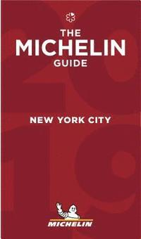 bokomslag New York City 2019 Michelin Red Guide