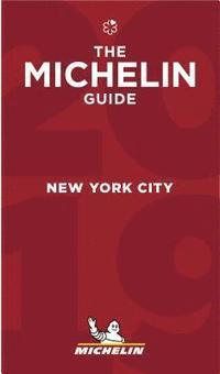 bokomslag New York City 2019 Michelin Red Guide