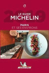 bokomslag Paris 2019 Michelin Hotell & Restaurangguide