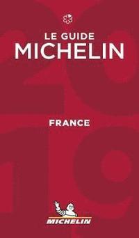 bokomslag Frankrike 2019 Michelin Hotell & Restaurangguide