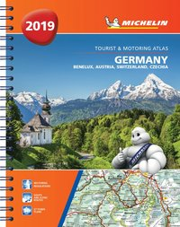 bokomslag Germany, benelux, austria, switzerland, czech republic 2019 - tourist and m