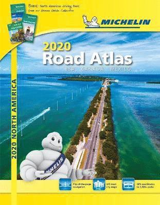 bokomslag Road atlas 2020 - usa, canada, mexico - tourist & motoring atlas